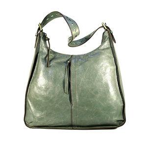 HOBO INTL Marley $268 Sage Green Hobo Shoulder Bag